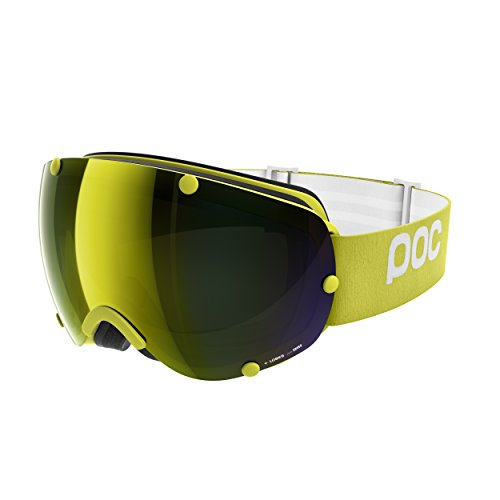 POC Lobes Skibrille, Hexane Yellow, One Size