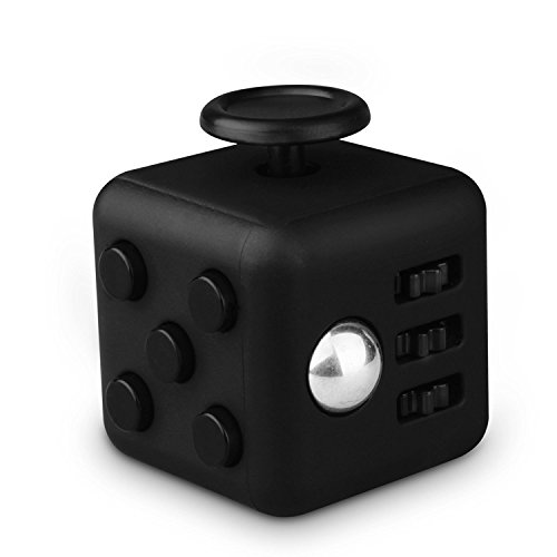 Preisvergleich Produktbild MUTUAL M-cube01 Stresswürfel Fidget Cube, schwarz