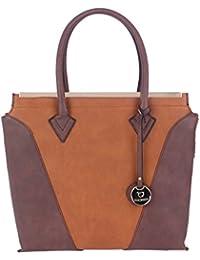 Fur Jaden Tan Handbag For Women