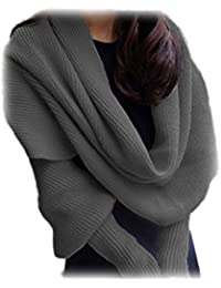 Antemi - Accessoires - echarpe femme epaisse - manches originale - Gris
