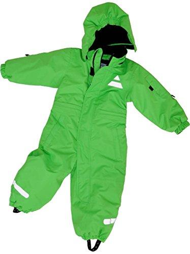 Maylynn Mini Baby Softshell Schneeanzug Schneeoverall grün, Größe:92
