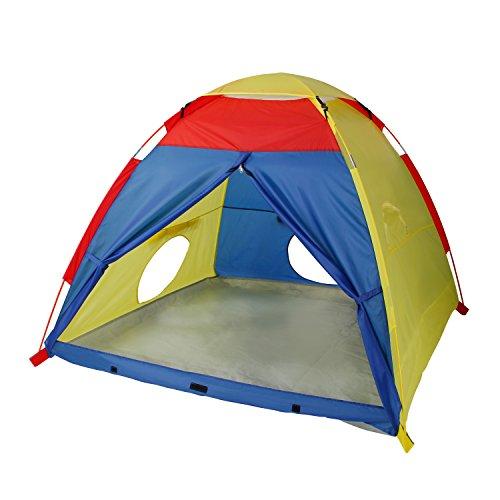 SGILE Bunt Spielhauszelt für Indoor & Outdoor, Spielzeug Kinder Spielzelt, Kinder Spielhaus, Kinderzelt Weihnachtsgeschenk Kindergeschenk