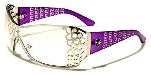 KLEO Damen Sonnenbrille, Violett