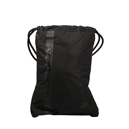 Nike Sportswear Tech Turnbeutel, Black, 45.5 x 33 cm