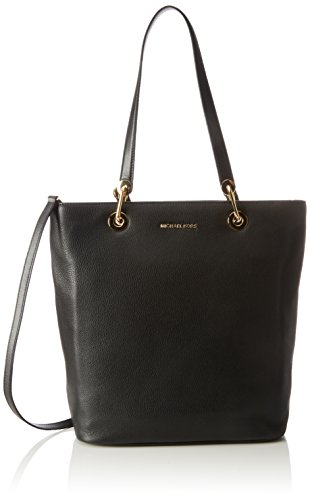 Michael Kors Damen Raven Large Ns Top Zip Tote, Schwarz (Black), 12 x 25 x 38 cm (Top Large Zip-handtasche)