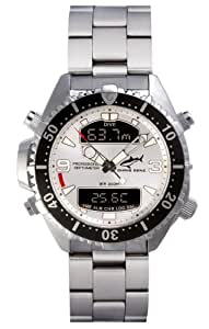 Chris Benz Depthmeter Digital CB-D200-SI-MB Mens Chronograph Diving Computer