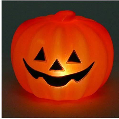 LEDMOMO Halloween zucca luminosa lampada zucca con il suono decorazioni halloween zucca L