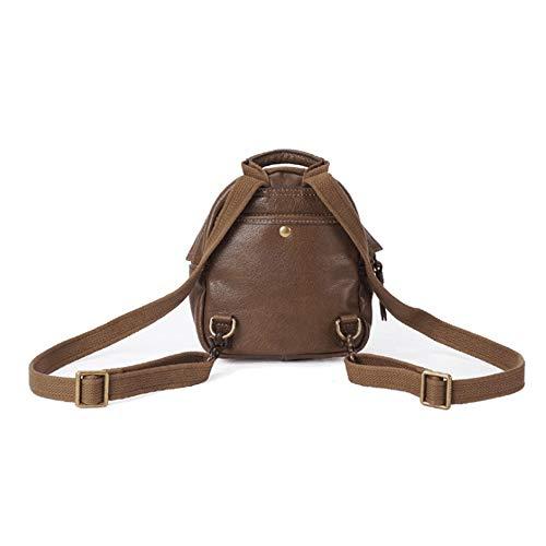 0821e26e70539 FELICIOO Mini Leder Rucksack für Frauen