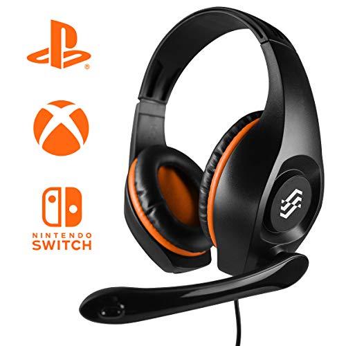Storm Cuffie Gaming 'Two dots' Multi Piattaforma Speaker HD 40Mm Microfono a Scomparsa con Riduzione Rumore - PlayStation 4