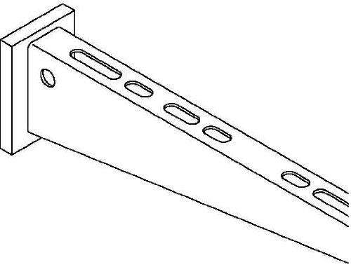 Preisvergleich Produktbild obo-bettermann Dreieck-verstärkt für Befestigung AW 15/11verzinkt