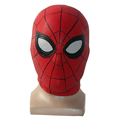 Zu Halloween Hause Kostüm - CHAIMEI Latexmaske Maske Weit Von Zu Hause Latex Maske Peter Parker Helm Halloween Kostüm Rolle Cosplay Requisiten