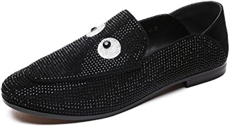 MUYII Zapatos Superficiales Para Mujeres Zapatos Mocasines Ligeros Y Transpirables,Black-39
