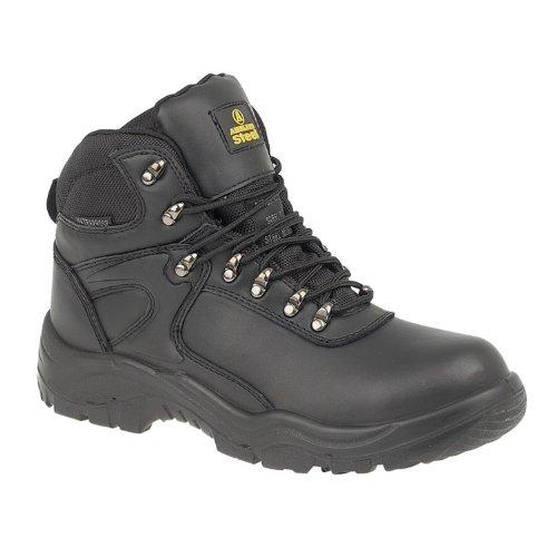 Aço Amblers Sapatos De Segurança Fs218 Preto