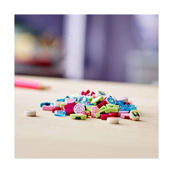 LEGO- Dots Extra Serie 1 Accessori con Elementi Glitterati, Traslucidi e Speciali per Cambiare il tuo Braccialetto o le… 4 spesavip