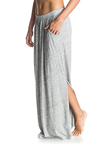 Roxy Damen Rock Last Line Maxi Skirt Heritage Heather