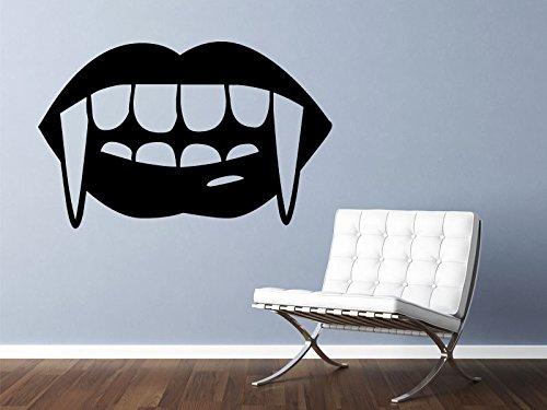 jiushizq Vampire Vinyl Wall Decor Dekoration Abnehmbare Kreative Wandaufkleber Für Wohnzimmer Erhältlich Z 86x56 cm - Vampir-golf