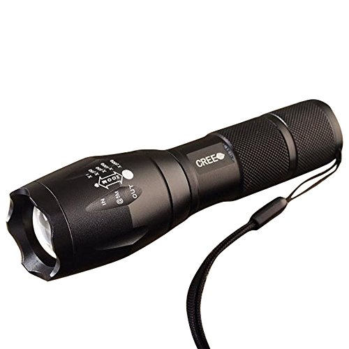 Flashlight,LANDFOX 1600 Lumen CREE XM-L T6 LED 18650