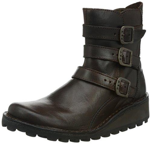 Fly London Myso, Boots femme Marron (Dk.brown 001)