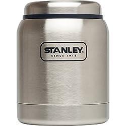 Stanley Adventure Vakuum Isoliert Food Jar, Herren, 10-01610-002, Stainless/Navy, 14 Ounce