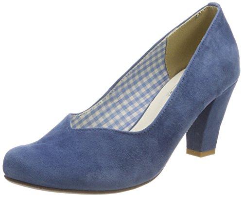 Andrea Conti Hirschkogel by Damen 3000507 Pumps, Blau (Jeans), 41 EU