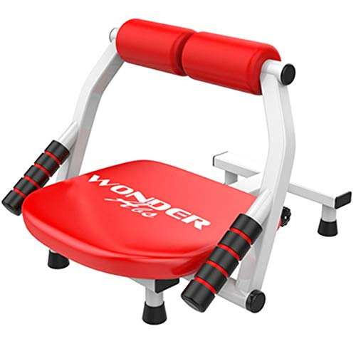 DEWUFAFA Sit-ups Fitness-Ausrüstung, Männer Und Frauen Sport Supine Board - Start Multifunktions Bauch Maschine Bauchmuskeln Brett Gewicht Bench (Color : Red)