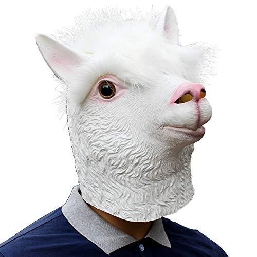 BNMY Maschera Di Halloween Simpatica Maschera Da Panda Maschera D aquila  Seria Maschera Di Alpaca 7809ac8c5801
