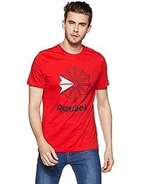 2d6726b733351a Reebok Men s T-Shirts Online  Buy Reebok Men s T-Shirts at Best ...