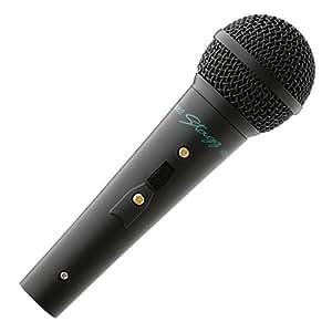 Stagg MD-1500BKH Rocket Pro Scène Microphone dynamique Noir