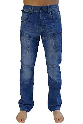 Crosshatch - Jeans - Homme bleu bleu - bleu - 38
