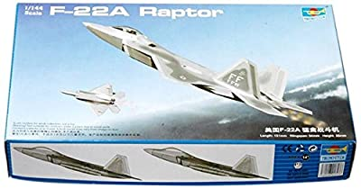 1/144 F-22A Raptor Fighter