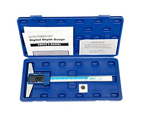 DML 150mm 15,2cm Digital Tiefenmesser Edelstahl 12Monate Garantie
