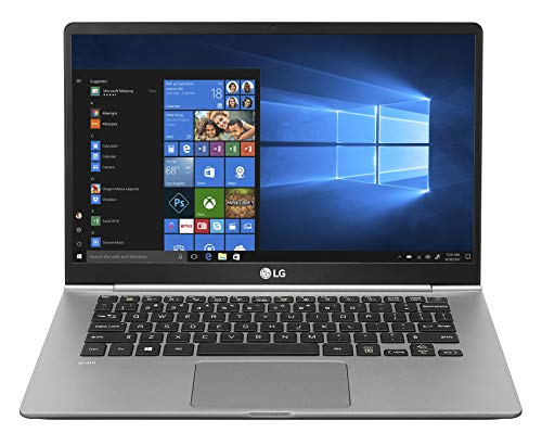 "Foto LG Gram Laptop 14Z990 Notebook, Display 14"" Full HD IPS, Processore Intel i5-8265U, RAM 8 GB DDR4, SSD 256 GB, Grafica Intel UHD 620, HD Audio con DTS Headphone-X, Windows 10 Home (64bit), Argento"