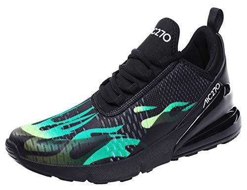 GNEDIAE Homme AIC 270 Bas Top Sports Chaussures de Course Choc Absorbant Trainer Courir Jogging Trainers Trainers Fitness Léger Chaussures Multicolore