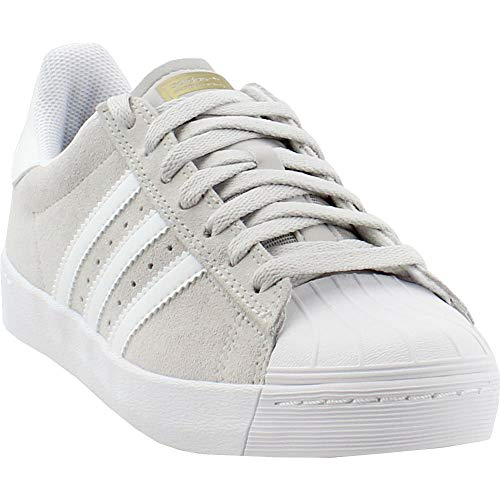 adidas OriginalsSuperstar Vulc ADV - Superstar Vulc ADV Herren, Beige (Grey One/Footwear White/Gold Metallic), 42.5 EU Frauen / 41 EU Herren M US