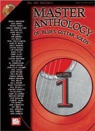 MEL BAY BLUES GUITAR SOLOS ANTHOLOGIE VOLUME 1 + 2CD Jazz&Blues Noten Gitarre