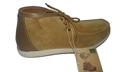 Woodland Men's Camel Leather Sneakers - 8 UK/India (42 EU)  available at amazon for Rs.1946