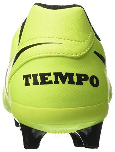 Nike Herren Tiempo Genio Ii Leather Ag-Pro Fußballschuhe Gelb (Vert Volt/black-vert Volt)