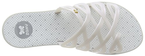 Zaxy Fresh Infinity Fem, Sandales ouvertes femme Blanc - Weiß (white 8482)
