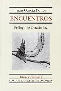 Encuentros par  Juan García Ponce