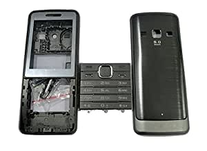 TOTTA Replacement Full Body Housing Back, Body Panel For Samsung S5610- Grey