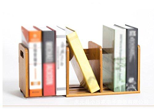 Librería Estantería 58 * 18 * 21 Cm Telescópica Escritorio Creativo Oficina Estudiante