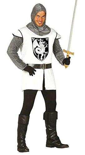 Guirca Costume cavaliere soldato medievale carnevale uomo adulto 80837