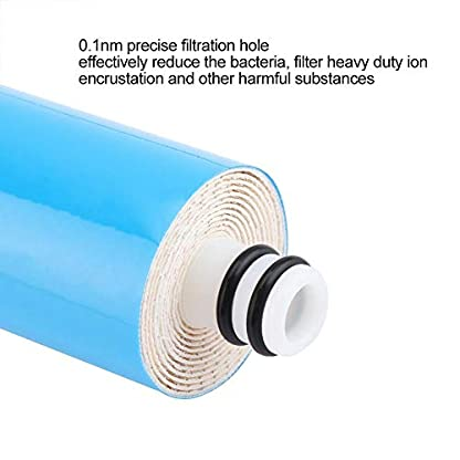 Aramox – Cartucho de Filtro de Agua (50 GPD, Rojo) para la mayoría de Las máquinas de Agua Pura y purificador de Agua