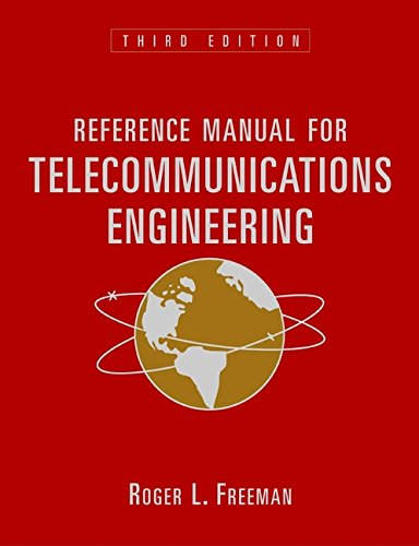 Reference Manual for Telecommunications Engineering