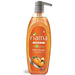 Fiama Shower Gel, Peach and Avocado, 500 + 50ml