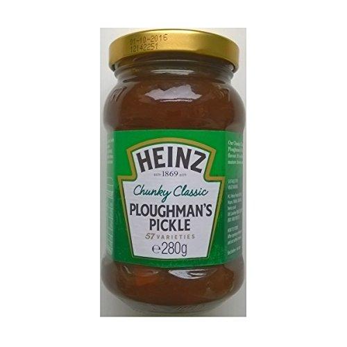 Heinz Chunky Ploughmans classiques Pickle 8 x280gm