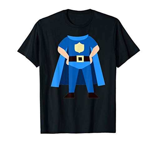 Blaues Superheld Cosplay Kostüm T-Shirt (Cosplay Superhelden Kostüm Frauen)