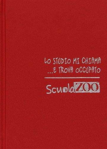 Diario scuolazoo rosso bianco datato 16 mesi cm 11x15