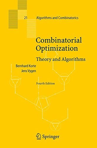Combinatorial Optimization: Theory and Algorithms (Algorithms and Combinatorics) by Bernhard Korte (2007-11-29)