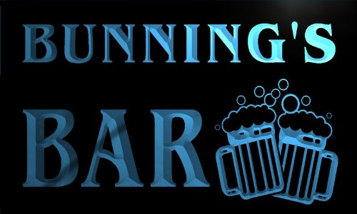 w038475-b-bunning-name-home-bar-pub-beer-mugs-cheers-neon-light-sign-barlicht-neonlicht-lichtwerbung
